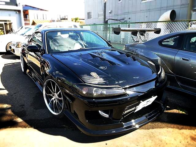 ガレージマックワイドボディ!S15シルビア・スペックS改R仕様&3.9L仕様6G7型エンジン搭載!三菱ギャランの動画