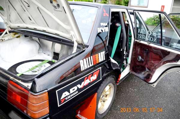 アドバンランサーレプリカ再現!A175A型三菱ランサー&当時1994年4代目ランサーのCM動画