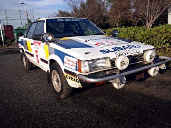 本物WRCサファリラリー参戦!3代目AA5型レオーネRX&当時1984年!レオーネRXのCM動画