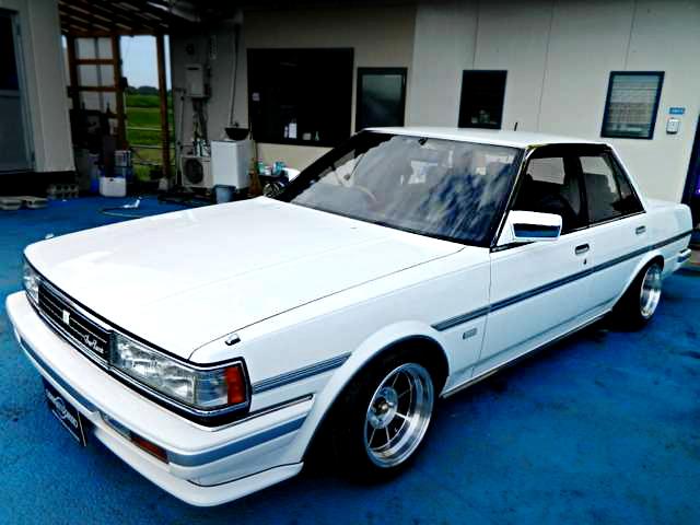 青内装!限定車GX71型クレスタ・スーパールーセント・エクシード&当時1985年!コロナクーペのCM動画