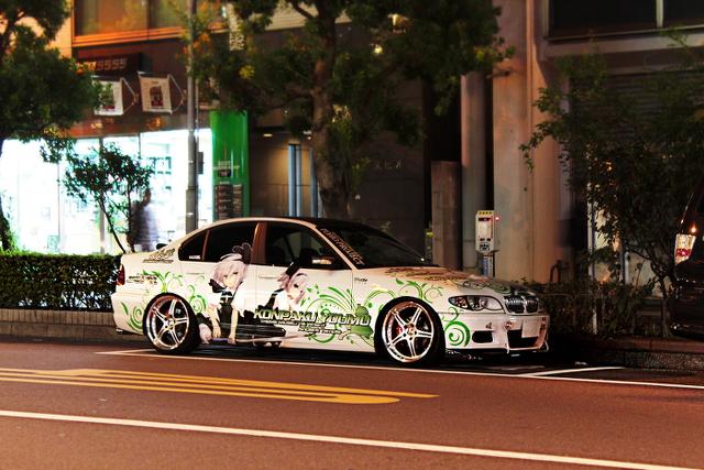 魂魄妖夢E46型 BMW秋葉原痛車201309_1