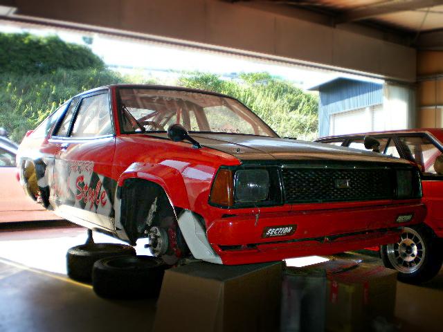 レースマシン!4AGエンジンスワップ310型サニークーペ&エキサイティングカーショーダウン!サウンドステージ動画