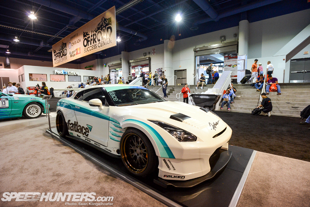 (海外)ベンソープラワイドボディ!R35日産GT-R&SEMAショー2012Fatlaceベンソープラ日産GT-Rの出展画像