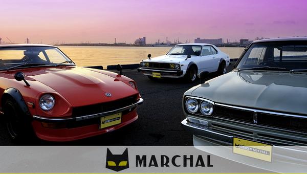 (2012年)元マーシャルデモカー!HGC211後期スカイラインジャパン&マーシャルHPの広告