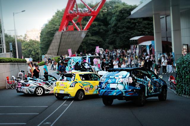 2013年9月29日開催!東京タワー痛車展示イベントその1
