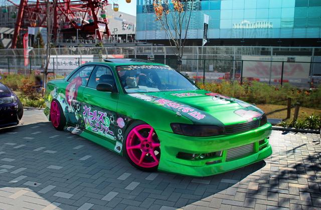 東京モーターショー2013!痛Gふぇすたinお台場モーターフェス2013痛車トヨタ編その2