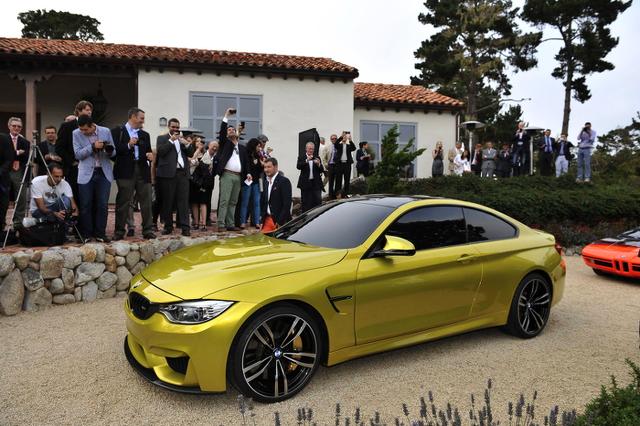 コンセプトモデル!BMW・M4クーペのローダウンシャコタン化!ボディカラーチェンジ!