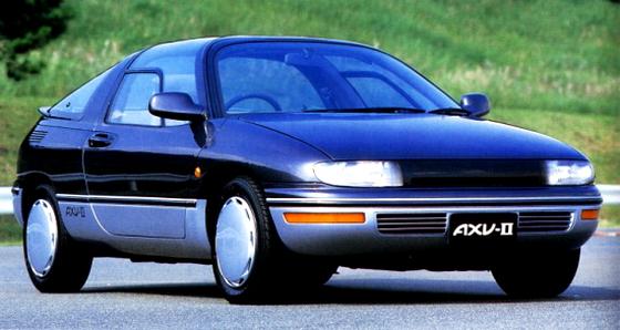 EP82用スターレットGT用4Eターボエンジン換装!トヨタ・セラ&コンセプトカーAXV-Ⅱ