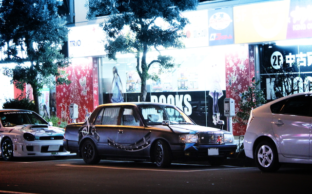 トヨタコンフォート痛車20131224_2