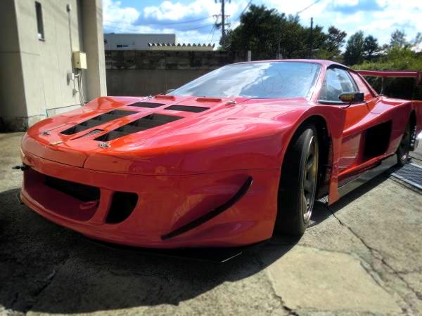 レーシングカーボディ!12連スロットル!フェラーリテスタロッサ&バニング!バットマン号のキャリアカー動画