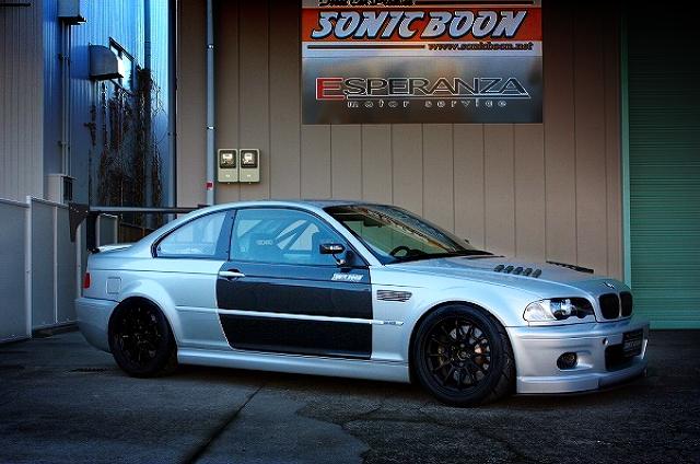 サーキットスペックHKSシーケンシャルMT搭載!E46型BMW・M3クーペ&SR20ターボエンジン搭載E30型BMWの動画