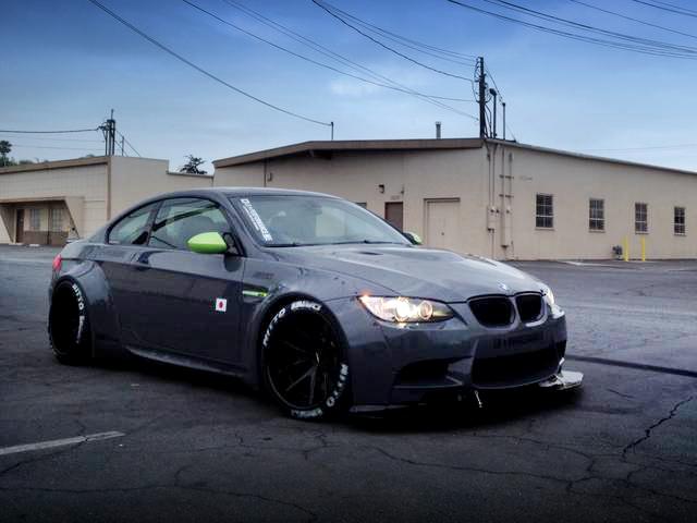 SEMAショー2013出展!LBワークスコンプリートR35日産GT-R・E92型BMW・M3クーペ