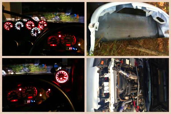東名M7960タービン!レイテック制御!S15型ワイドボディシルビア&トヨタV8型1UZ-FEエンジン換装WGC34ステージアの動画