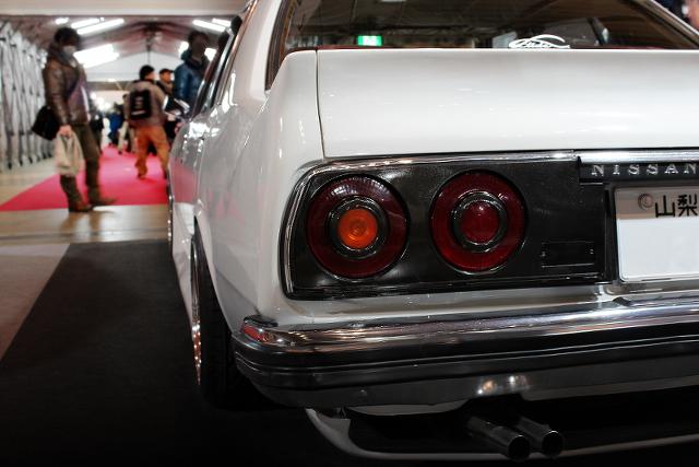 幕張メッセ!東京オートサロン2014(エルティードブース!旧車C230系ローレル4ドア)