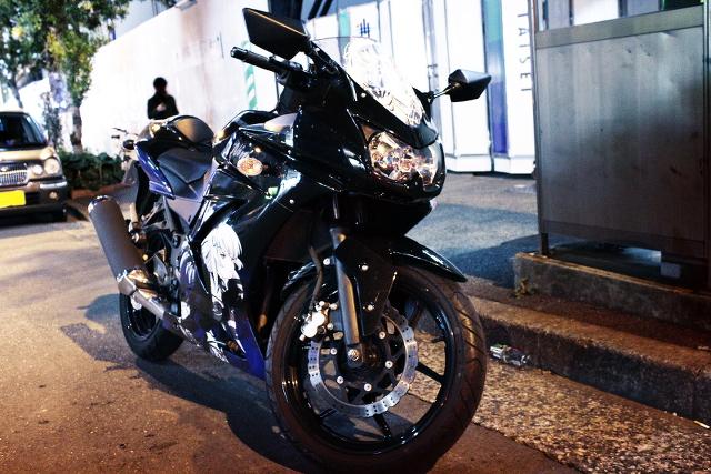 2014年1月18日~19日撮影!秋葉原痛車ストリート(痛単車CB400SF・NINJA)