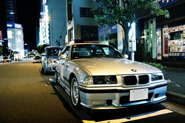 2014年1月19日撮影!秋葉原痛車ストリート(E36型BMW・M3、K12マーチ、GDBインプレッサ)