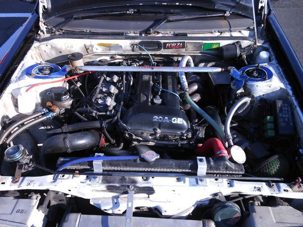 SR20エンジンAE86ワイドレビン20140118_2