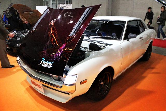 幕張メッセ!東京オートサロン2014(旧車!TA22型サイバーセリカ)