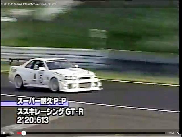 (海外)S耐久車両!元ススキレーシングGTR!BNR34スカイラインGT-R