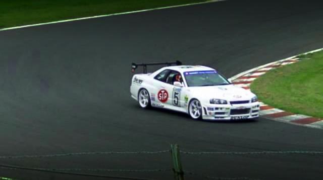 ススキレーシング耐久R34スカイラインGTR20140227_9