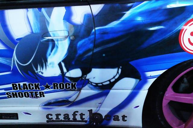 ブラックロックシューター痛車S15シルビア秋葉20140131_2