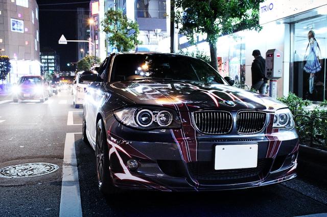 2014年1月31日撮影!秋葉原痛車ストリート(蒼き鋼のアルペジオ・E87型BMW1シリーズMスポーツ)