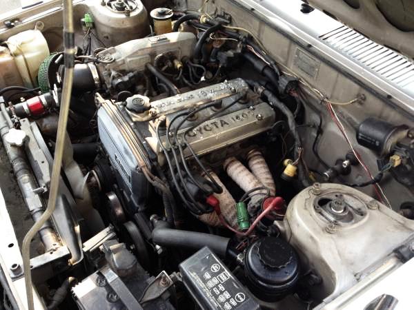 4AGエンジンAE70カローラセダン20140222_2