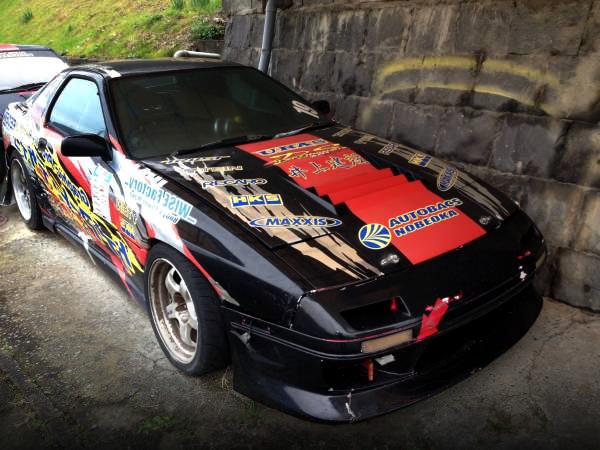 D1ストリートリーガル出場車両!FC3S型マツダRX-7・GT-R&当時1990年オートザム・レビューの動画