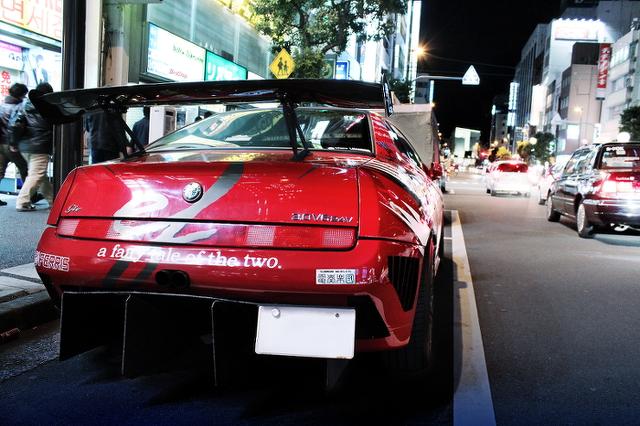 minori痛車アルファロメオGTV秋葉原20140201_2
