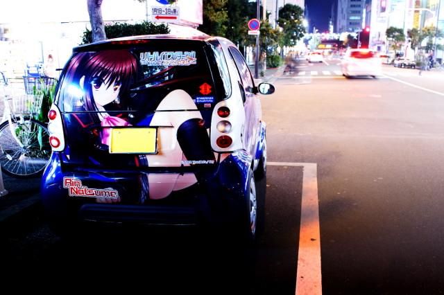 2014年3月7日撮影!秋葉原痛車ストリート!(リトルバスターズ!痛車スマートクーペ)