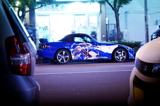 2014年3月21日撮影!秋葉原痛車ストリート(魔法少女リリカルなのは仕様・ホンダS2000タイプS)