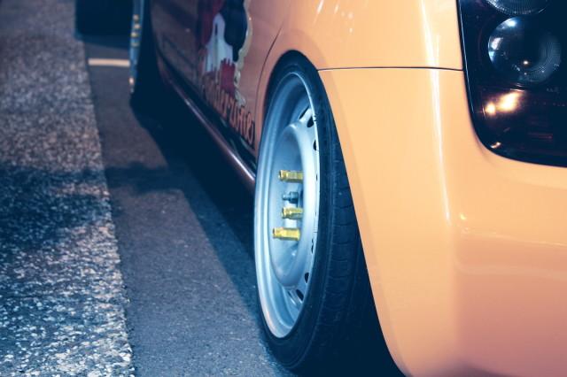2014年2月28日撮影!秋葉原痛車ストリート(2台!ラブライブ仕様マーチ)