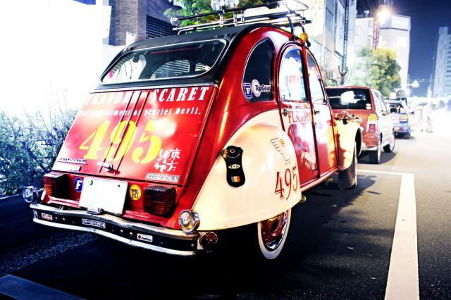 2014年3月16日撮影!秋葉原痛車ストリート(東方Projectフランドール・スカーレット仕様シトロエン2CV)