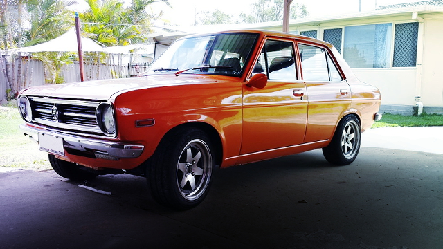 (海外)SR20DEエンジン換装!旧車B110型ダットサンサニー&1971年510型ブルーバードクーペのCM動画