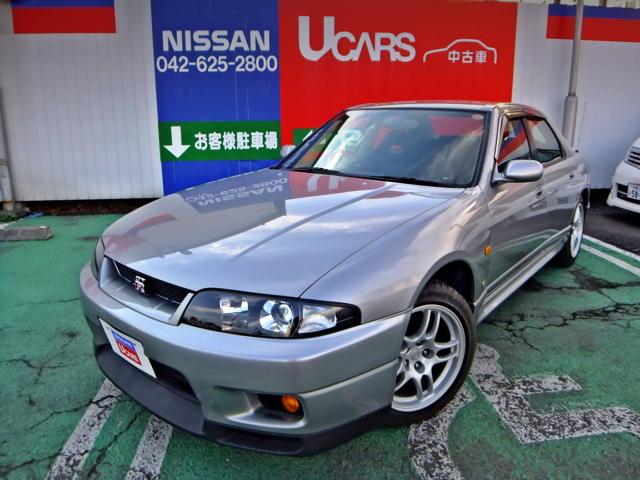 走行距離たった8000キロ!BCNR33スカイラインGTR4ドア・オーテックバージョン40TH&V8型VH45エンジン換装R32スカイラインの動画