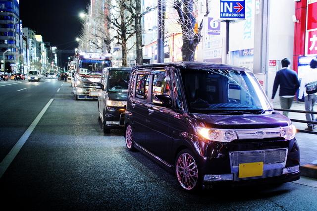 2014年3月22日撮影!秋葉原痛車ストリート後編(デコトラダンプ、ダイハツタント)