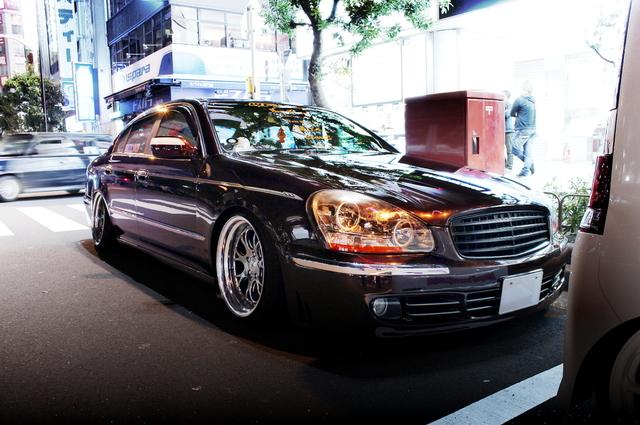 2014年3月29日撮影!秋葉原痛車ストリート(ラブライブ!絢瀬絵里仕様・GF50型シーマ450XL)