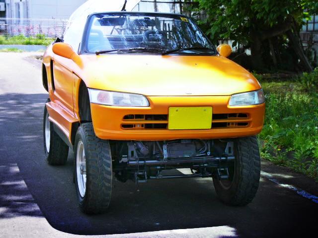 PP1型ホンダ・ビートボディ!JA11Vスズキジムニー&掲載車両ビームニーの動画