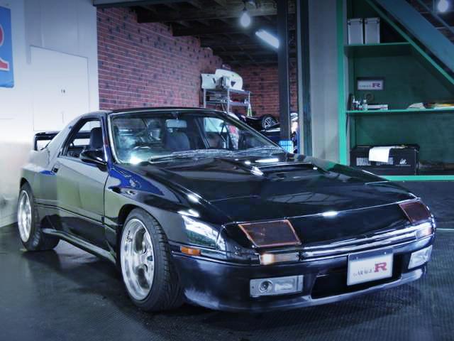 ユアーズフロントスポイラー!ブリスターワイドボディ!FC3S型サバンナRX-7&1JZ-GTEエンジン移植マツダRX-8の動画