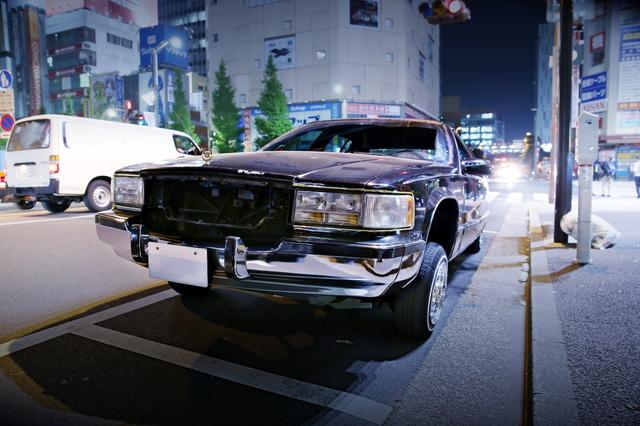 2014年4月25日!ニコ超会議3前日!秋葉原痛車ストリート(キャデラック・フリートウッドブロアム)