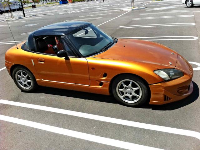 ホンダS2000フェイス化!EA11R型スズキ・カプチーノ&GSX-R用バイクエンジン換装!ローバーMINIの動画