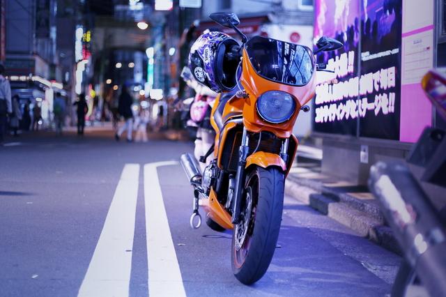 2014年4月27日!ニコ超会議3終了後!秋葉原痛車ストリート(カワサキZZR・カスタムバイク)