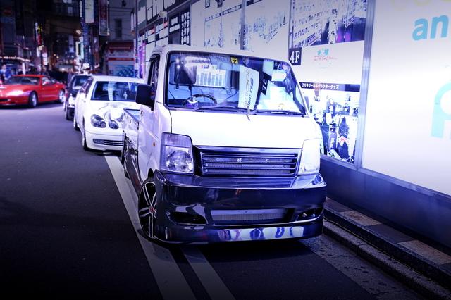2014年5月5日ゴールデンウィーク撮影!秋葉原痛車ストリート(ラブライブ!16アリスト/スズキ・キャリイ)