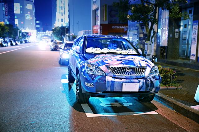 2014年5月5日ゴールデンウィーク撮影!秋葉原痛車ストリート(雪ミクハリアー・タングステンさん)