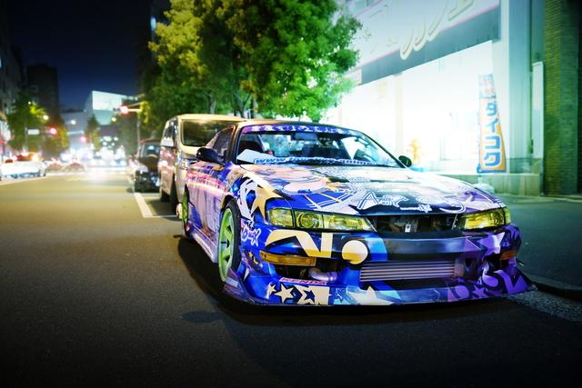 LOVELIVE痛車S14シルビア2014523_1