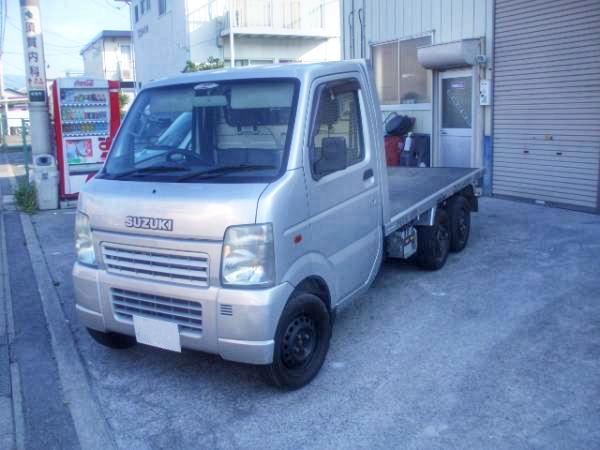6輪トラック仕様!公認取得済み!DA63T型スズキ・キャリイ&ダメよ~ダメダメ!UDX夏まつり(秋葉原)