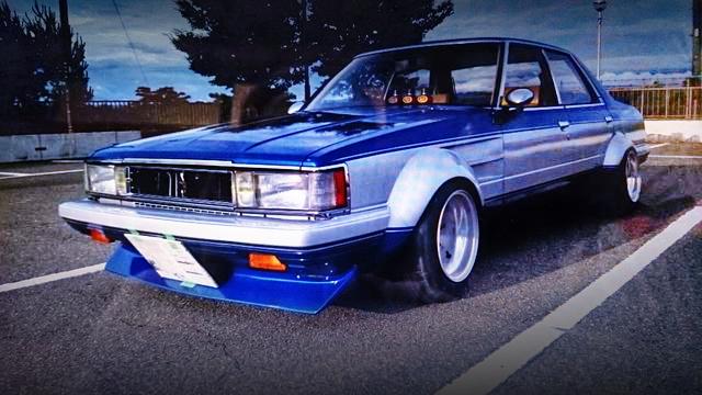 街道!パテ埋めオーバーフェンダー!レーシングカラーGX61クレスタ&1984年FunToDriveトヨタのCM動画