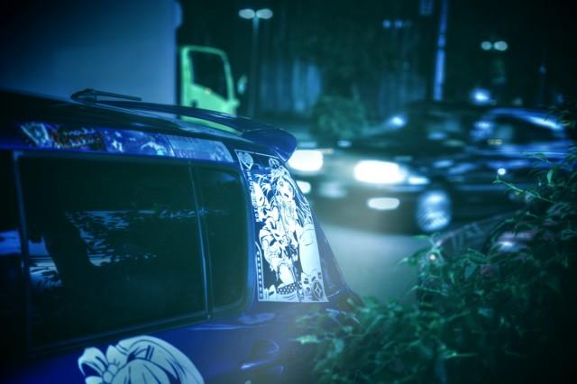 2014年7月12日撮影!秋葉原痛車ストリート(ラブライブ!南ことりスイフト/ラブライブ!にこまきトヨタVOXY)