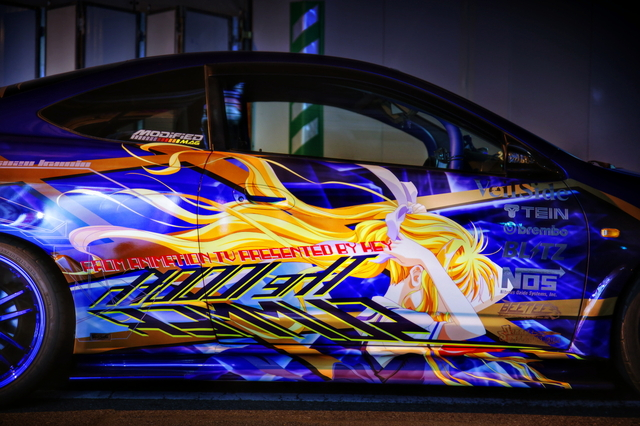 2014年7月12日撮影!秋葉原痛車ストリート(AIR神尾観鈴・DC5型インテグラ・タイプR)