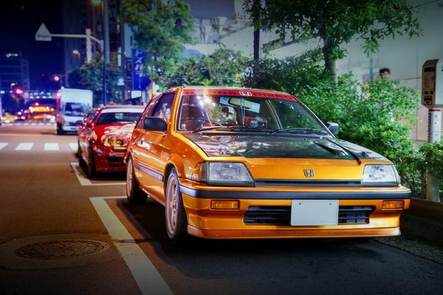 2014年7月6日撮影!秋葉原痛車ストリート(ラブライブ!仕様3代目ワンダーシビック)